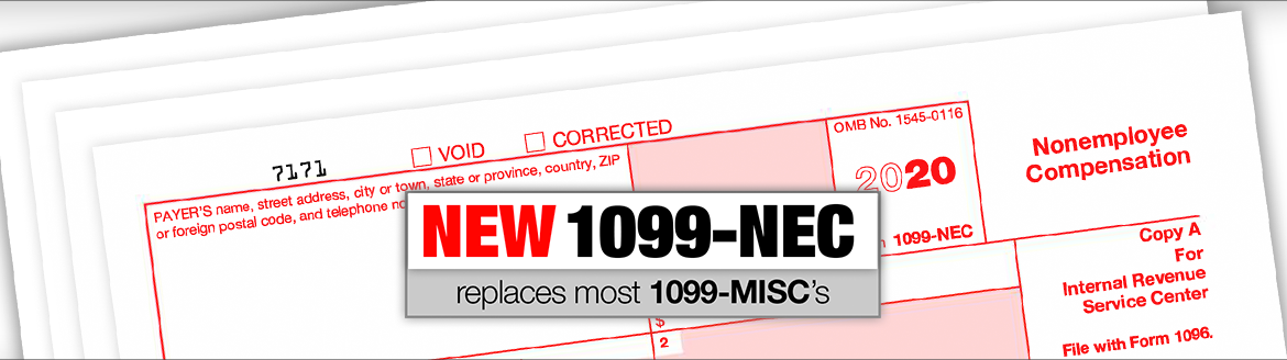 New 1099 Form